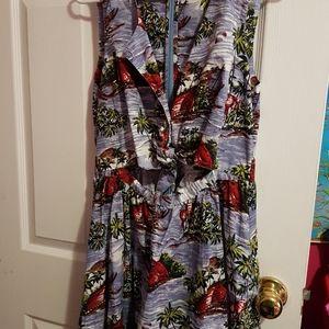 Top Shop Tropical Dress